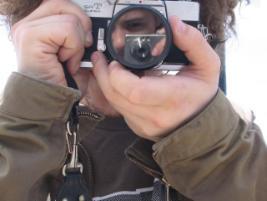 Jen Datka | reflection in a polarized lens | Brooklyn, NY