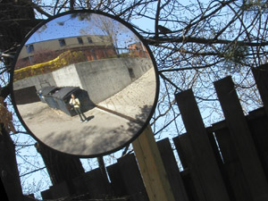 Flora Chan | Parking Lot Mirror