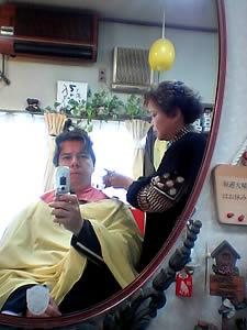 Kurt Easterwood | Getting a haircut | Saitama, Japan
