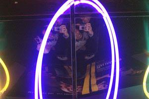 Nguyen Nguyen | Neon in Ceiling | Regal Cineplex in Rockville, MD