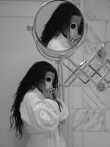 Jane Monelly | Shaving mirror | Newport , Wales