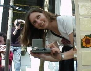 Laura Catherine   Great minds think alike...   University Street Fair, Seattle, WA