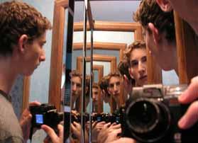 Aaron Schutzengel | Standing Between Three Mirrors | Stratford, CT, USA