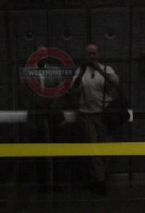 Peter George | Going Underground | Westminster Station, London, UK  (N51.50138 W0.12483)