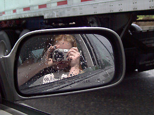 Lorelei Kryzanek   Objects in the mirror are closer than they appear   Portland, Oregon