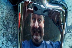 graham greig | Distorted | My garage, Steveston, B.C.