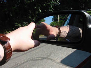 Jason Paschal | Tattooed Driver | Plymouth, MA