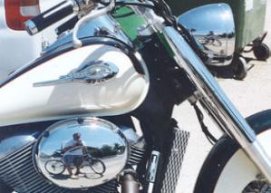 Pau | Bicycle vs motorcycle | vinaròs, spain