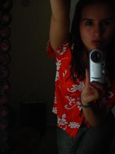 Maria Teresa Huesca Serrano | me and the mirror | in my bedroom