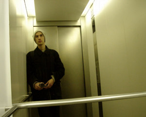 Holger | Me in Peito's elevator | Berlin