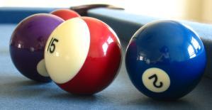 nori | reflection in pool balls | Swarthmore, PA