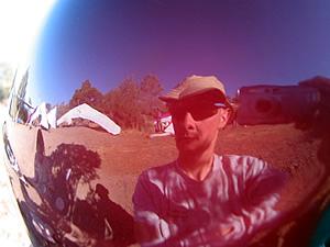 gwenha�l | helmet cam | hat creek rim, california