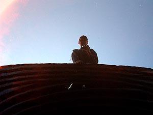 Allan O'Marra | Peering over a culvert... | Musclow, Ontario, Canada