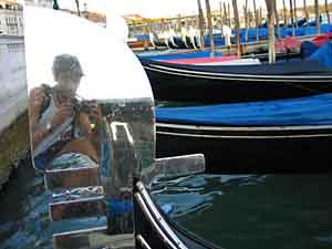 Sirio Magnabosco | gondola mirror | venice
