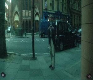 Peter George | Blue Windows | Shaftesbury Avenue, London (N 51.51435 W 0.12788)