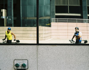 Joel Schilling | Reflected in the Building | New York City