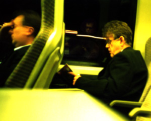 Nixon | Stranger on a Train | East Coast Mainline, Somewhere in the Midlands, UK.