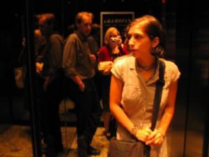 Mary Dickson   elevator, 51st floor   Toronto, Ontario