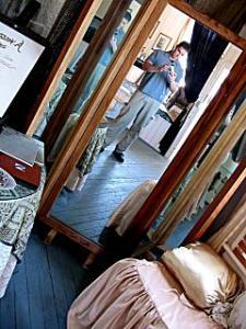 Brian | antique mirror | san luis obispo