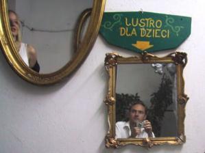 Marek | two mirrors on one wall | Warsaw, Poland