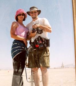 Derek Powazek | Burning Man Reflection | Black Rock City, NV