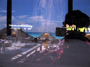 Dawn Nakaya | lunch on cancun beach | cancun, mexico