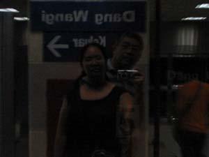 Gette | Waiting for the train | LRT Station, Kuala Lumpur