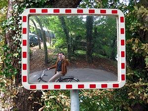 P. Verdoorn | Traffic mirror | Warmond, The Netherlands