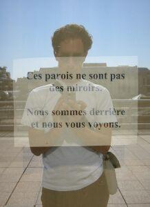 Bristiel Laurent | This is not a mirror | Paris, Les halles