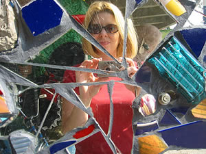 Rachelle Bowden | Broken Glass Art | Baltimore