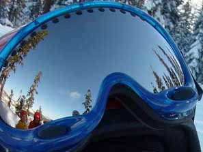 keiko   Snowmobiling   North Tahoe, CA