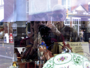 Lorien   Looking inside a chocolate store   Calgary, Alberta, Canada