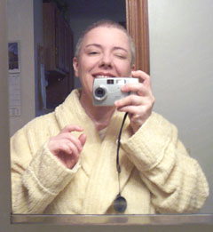 Jennifer Stewart | Big Bathrobe and (Almost) Bald Head | Malden, MA
