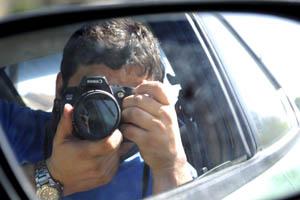 Jeremy Sanchez | Urban Safari | The passenger seat of my girlfriends car.