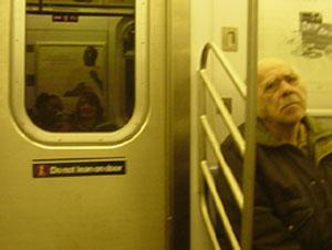 Zeynep | old man | New York subway