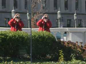 Frank DiGiorgio   Reflecting at the Capital   Harrisburg, PA