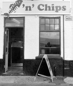 Andy Barton   Fish'n'chip Shop   Parkgate, Cheshire, England