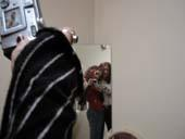 Cindee   mirror in the bathroom   northern California