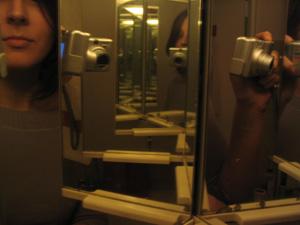 Melanie | hope in the mirror | Paris
