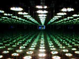 Paulo | Infinity Mirror Love Forever 2 | Sackler Gallery of Art, Washington, DC