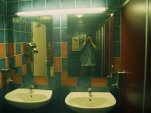 walter | restroom | between leipzig and berlin