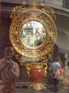 Gonzalo Guerechit Ratti | Half sphere mirror | Buenos Aires, Argentina