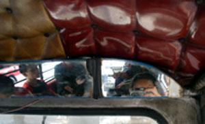 june | On a jeepney | Manila, Philippines