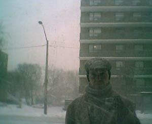 david c petite | Snowy Toast | Toronto, Ontario.  Canada.