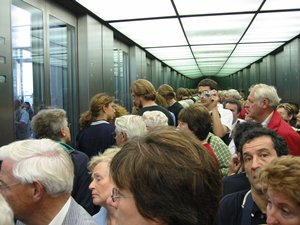 Holger Dieterich | Me in the Berlin Reichstag elevator | Berlin, Germany