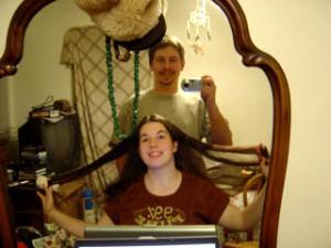 Aaron   Hair Raising Photo   Middle Earth