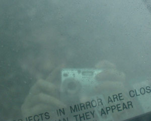 Jackie Sullivan | Objects In Mirror... | In a car, NY