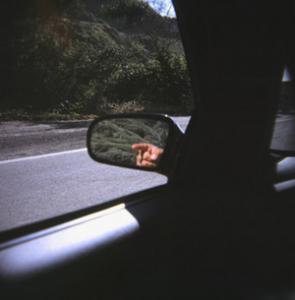 david kobayashi | talk to the mirror- driving along the pch | northern california