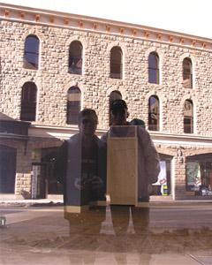 Lorien | Downtown reflection | Calgary, Alberta, Canada