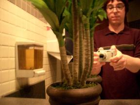 Brian G. Fish | bathroom plant | red lobster / deptford, nj